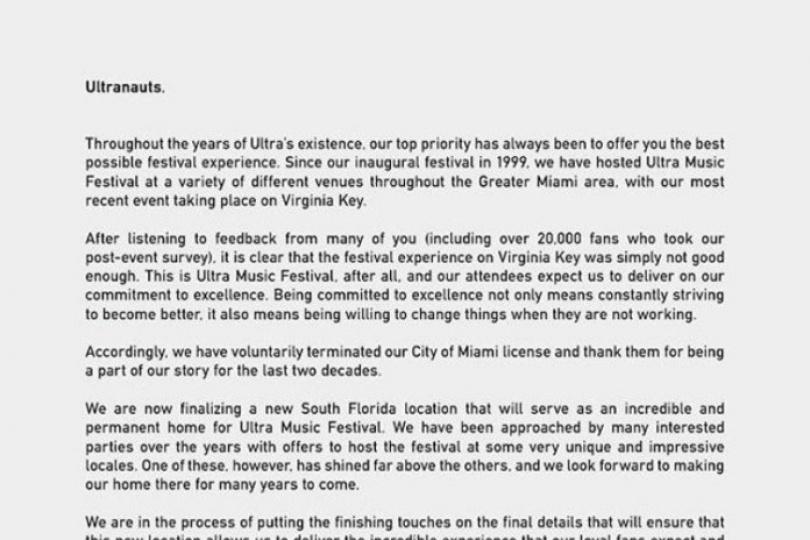 Adiós UMF Miami, Hola UMF Florida